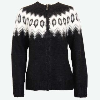 Hulda Icelandic wool sweater full zip