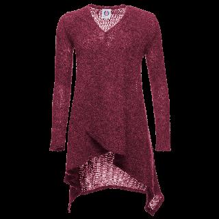 Karen Icelandic wool open long sweater