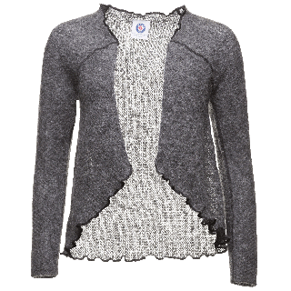 Kata Icelandic wool open sweater