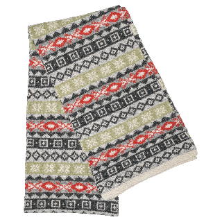 Fanney angora-blend scarf