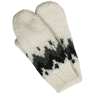 Vík men´s wool mittens
