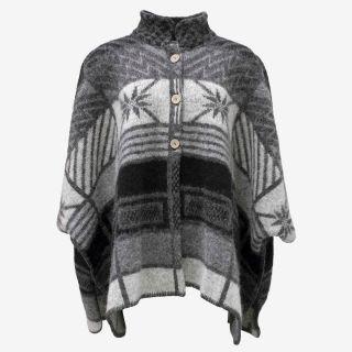 Ása Icelandic Wool Poncho