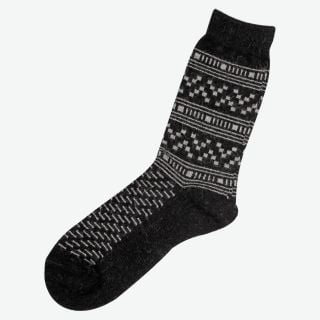 Ariel Angora wool socks