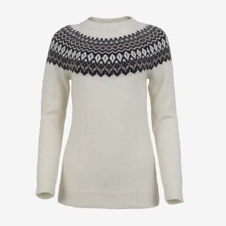 Ásta merino womens Nordic knit sweater