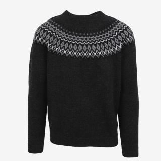 Ástmar merino mens Nordic knit sweater