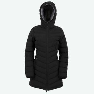 Brá warm hooded down coat