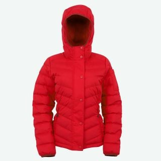Brá warm hooded down jacket
