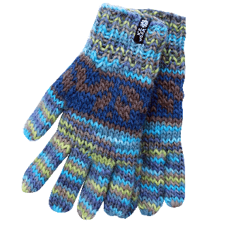 Daley hand knitted wool gloves