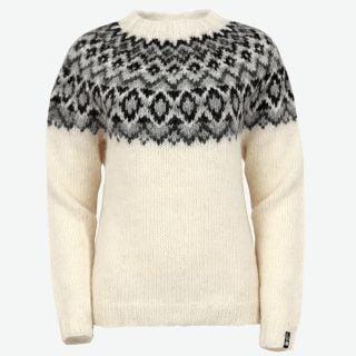 Edda womens handknitted wool sweater