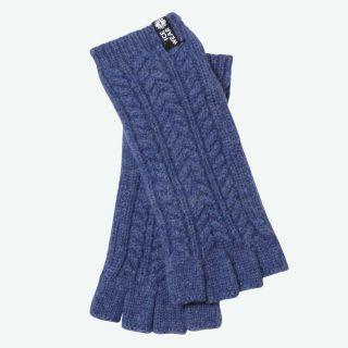Eldey wool fingerless gloves