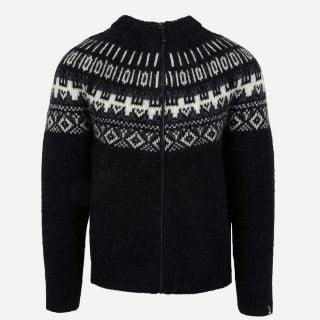 Elis Wool Sweater with full Zip