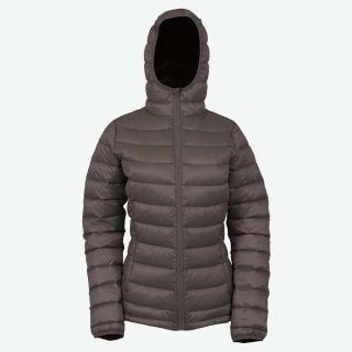 Emma hooded down jacket