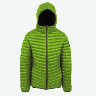 Erik warm hooded down jacket