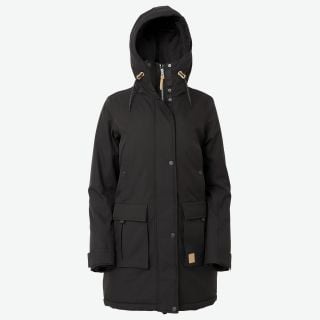 Folda warm parka for women