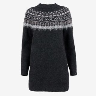 Fróðný long wool sweater