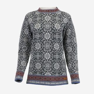 Gudrún Nordic cotton sweater