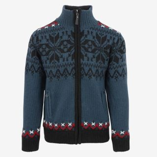 Gunnar Norwegian Lined Wool Sweater