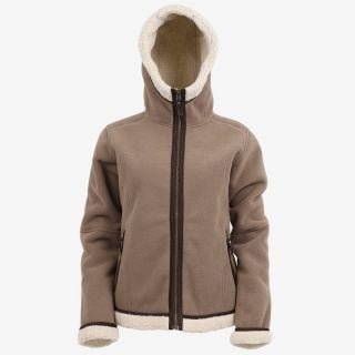 Hanna Sherpa fleece jacket