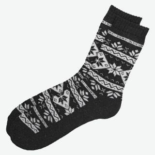 Loðmundur Angora wool socks