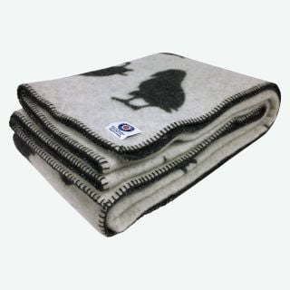 Puffin wool blanket