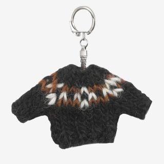 Keychain Wool sweater black