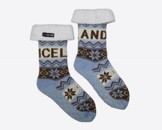 Warm cabin socks slippers