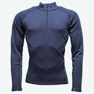 Drangsnes merino sweater half zip