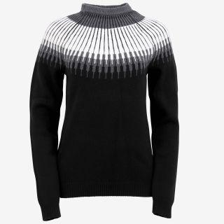 Minna wool sweater with pattern