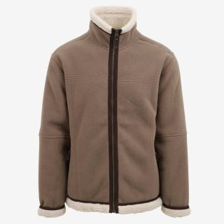 Mokka jacket sherpa fleece