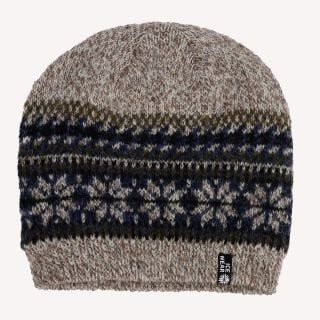 Wool hat in Nordic style