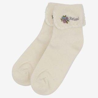 Polo angora warm socks low