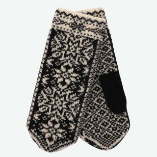 Snjólaug wool knitted mittens