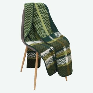 Sumarrós Icelandic wool blanket