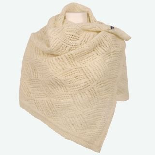 Svala knitted wool scarf