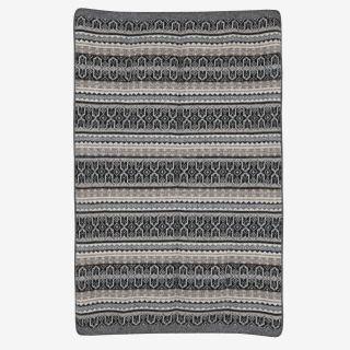 Valrós Icelandic wool blanket