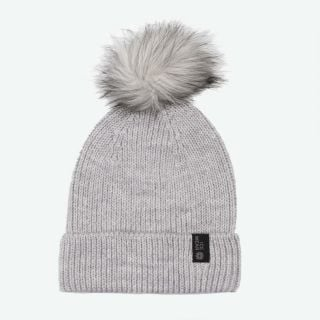 Vigur wool warm hat with pompom