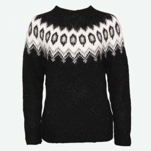 Hulda Icelandic wool handmade sweater