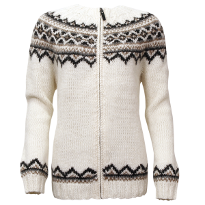 Brynja Icelandic wool sweater full zip