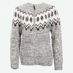 Hulda Icelandic wool sweater with zipper