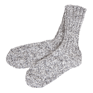 Landinn Icelandic wool socks