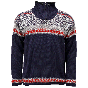 Bergen lined wool sweater Nordic style