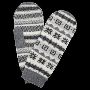Fanney woolen mittens
