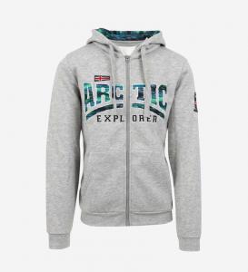 Arctic Explorer hoodie with zip