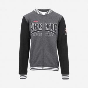 Arctic explorer Zipped crew neck sweater