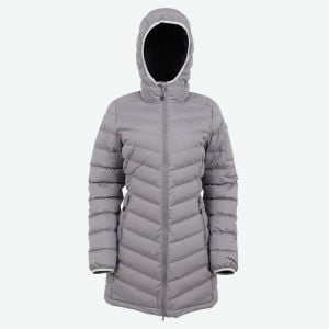 Brá warm hooded down coat