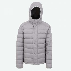 Brandur hooded down jacket