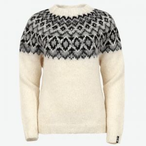 Edda womens handknitted wool sweater