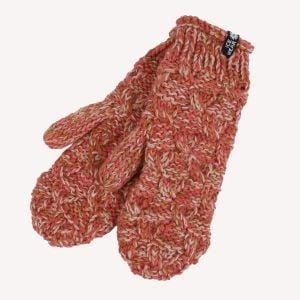 EINEY Hand knitted wool mittens