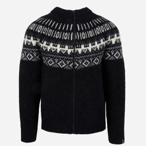 Elis Wool Sweater with full Zip