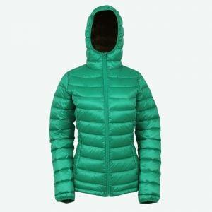 Emma warm down jacket with hood